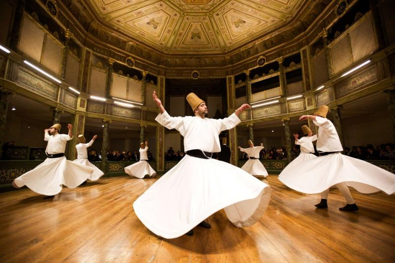 HODJAPASHA WHIRLING DERVISHES PERFORMANCE (Rhythm of the Dance Show) 140TL/PP
